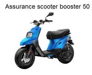 assurance scooter booster 50 cc